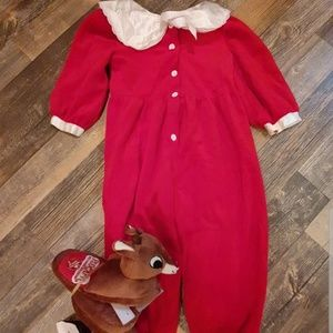 Vintage kids Christmas Outfit Romper *MOVING SALE*